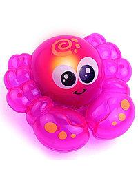 Happy Kid Игрушка для ванной со световыми эффектами (крабик)