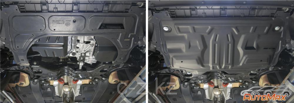 Защита картера и КПП  Volkswagen Polo 2010-2020, фото 2