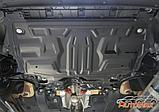 Защита картера и КПП  Volkswagen Polo 2010-н.в., фото 3
