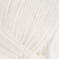 Пряжа 'Бамбино' 35 шерсть меринос, 65 акрил 150м/50гр (205, белый)