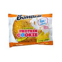 Низкокалорийное печенье BombBar - Protein Cookie, 40 гр Апельсин-Имбирь