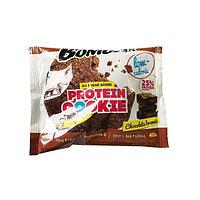 Низкокалорийное печенье BombBar - Protein Cookie, 40 гр Шоколадный брауни, фото 1