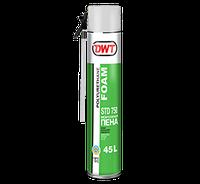 Полиуретановая монтажная пена 45 L  DWT STD750 750 ML