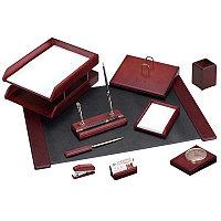 Набор настольный Delucci 10 предметов, красное дерево MBn_10211