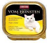 Animonda 100г Индейка и сыр,  Влажный корм для кастрированных кошек, Vom Feinsten