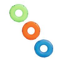 Детский надувной круг со шнуром в ассортименте, Color Blast, Bestway 36120, размер 119 см, фото 1