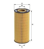 Фильтр масляный HENGST E172HD35