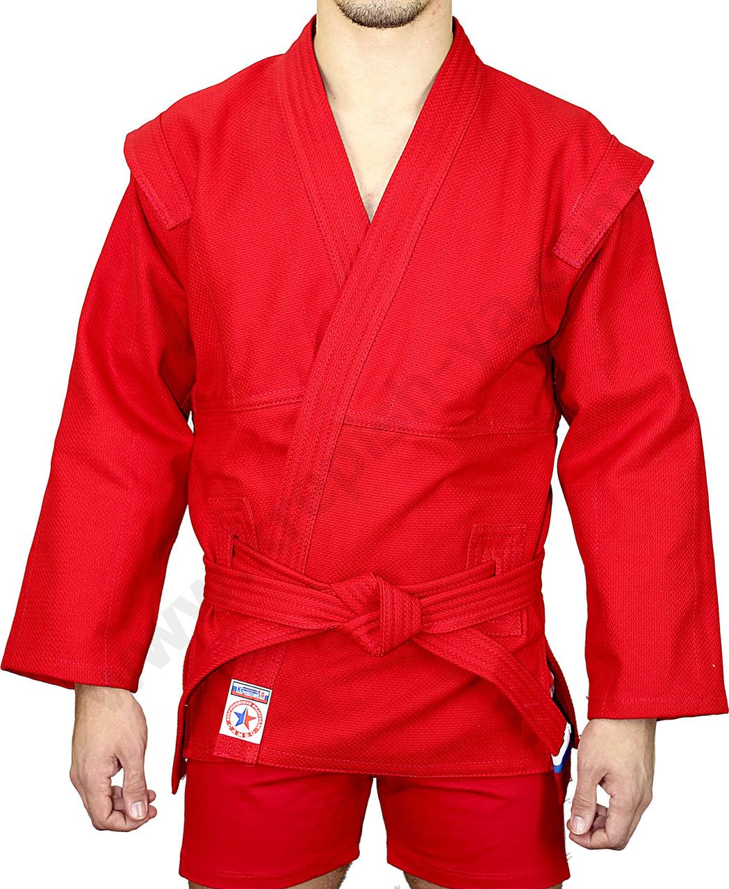 Форма самбо красный