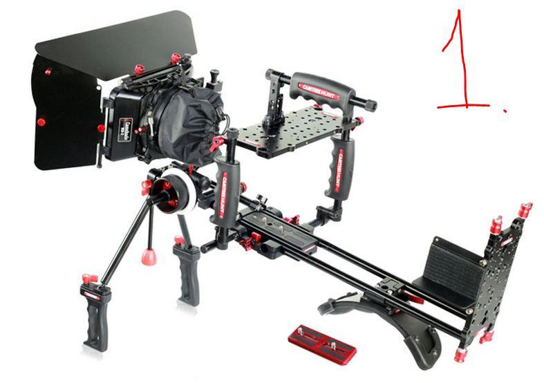 CAMTREE Hunt Bastion  /Плечевой штатив РИГ для DSLR и видеокамер