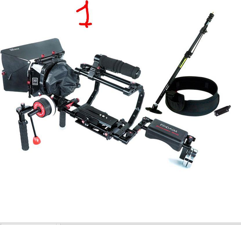 PROAIM комплект-6CF /Плечевой штатив РИГ для DSLR и видеокамер