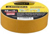 """Лента STAYER """"MASTER"""" клейкая, двусторонняя, на полипропиленовой основе, 38мм х 5м"""
