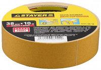 """Лента STAYER """"MASTER"""" клейкая, двусторонняя, на полипропиленовой основе, 38мм х 10м"""