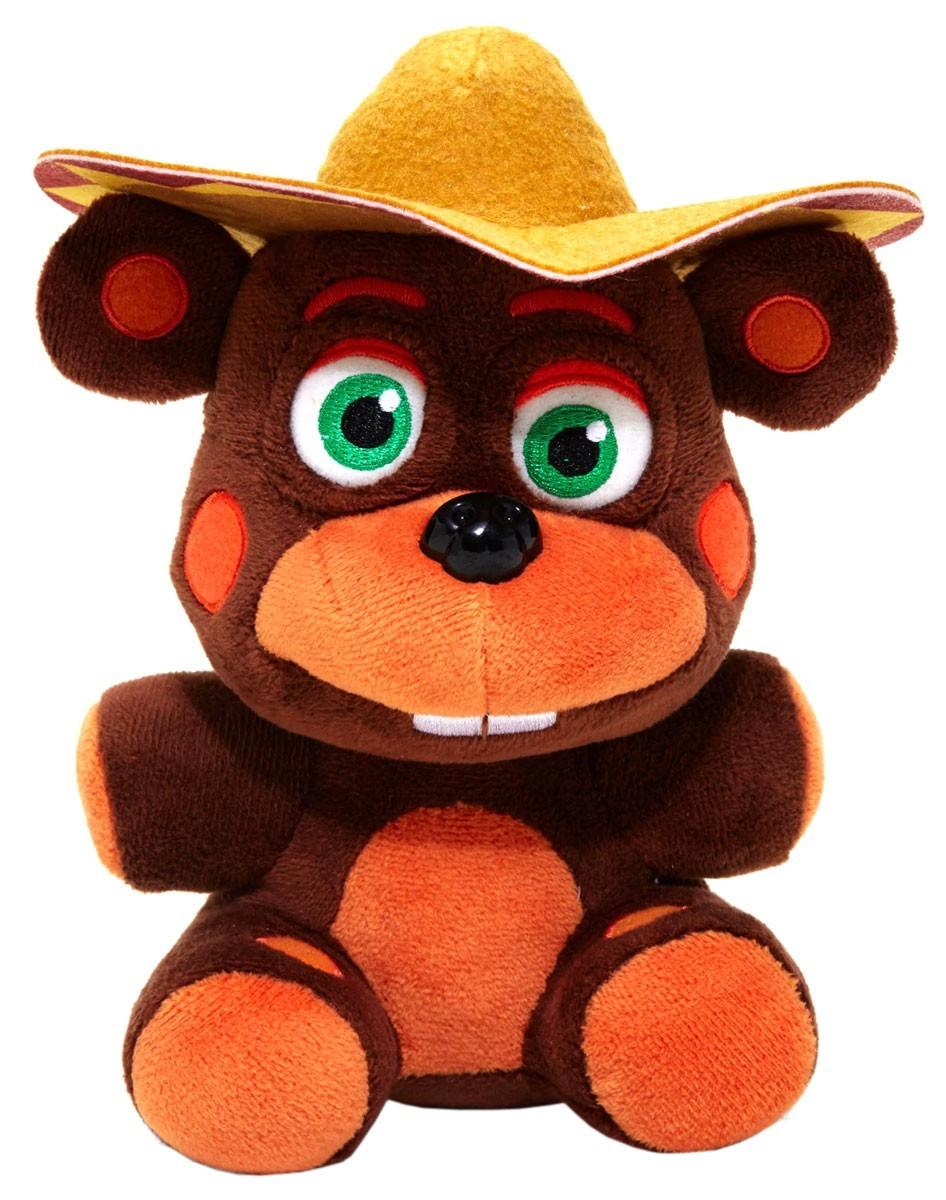 Five Nights at Freddy's Мягкая игрушка Фигурка Рок-звезда Эль Чип, 19 см.
