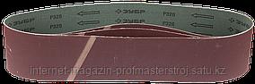 Лента шлифовальная, 3 шт, P80, 100x914 мм, для ЗШС-500, серия «МАСТЕР», ЗУБР