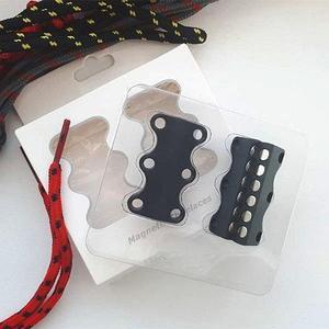 Умные магниты для шнурков Magnetic Shoelaces (Черный / Для взрослых)