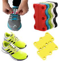 Умные магниты для шнурков Magnetic Shoelaces (Серый / Для взрослых), фото 2