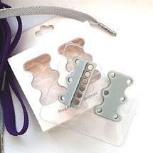 Умные магниты для шнурков Magnetic Shoelaces (Розовый / Для взрослых), фото 3
