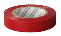 "Изолента STAYER ""PROFI"" красная ПВХ, на карточке, 15мм х10м х0,18мм"