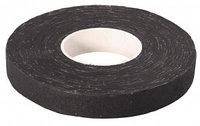 Изолента ЗУБР на хлопчатобумажной основе, чёрная, 18мм х 30м