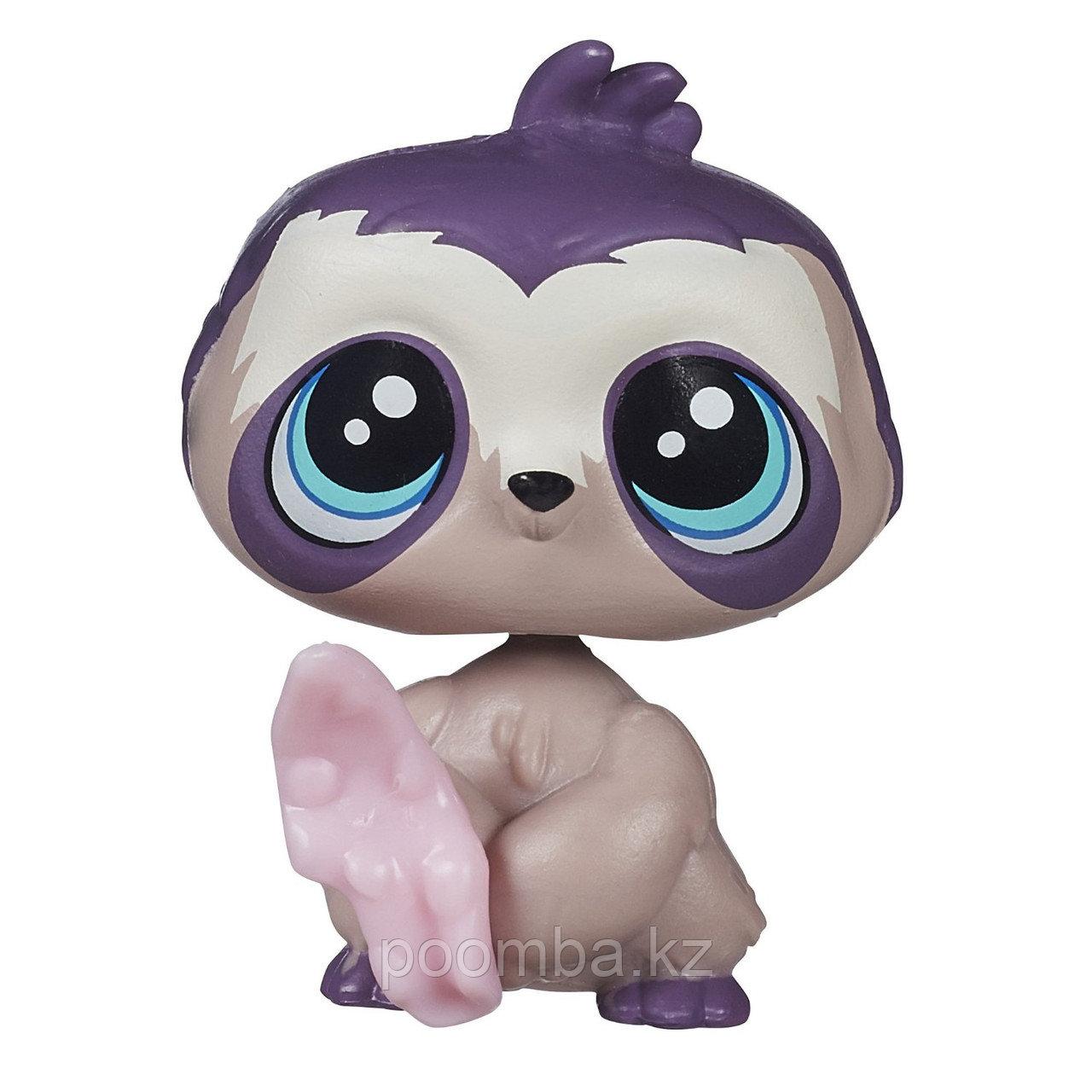 Зверушка Littlest Pet Shop - Ленивец с жвачкой
