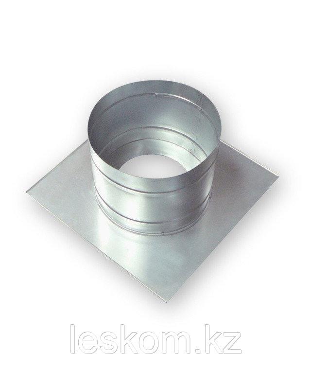 Потолочно-проходной узел, диаметр трубы 115, холодный