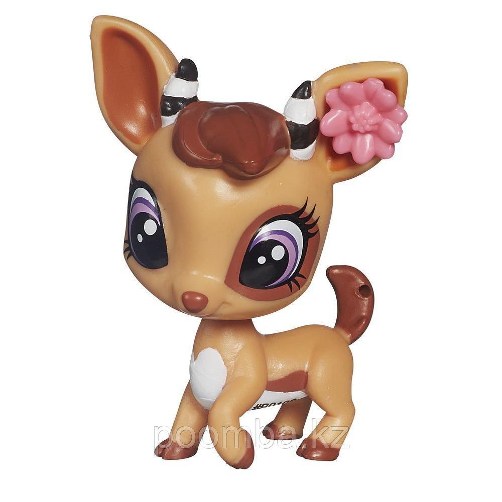 Зверушка Littlest Pet Shop - Антилопа с цветочком