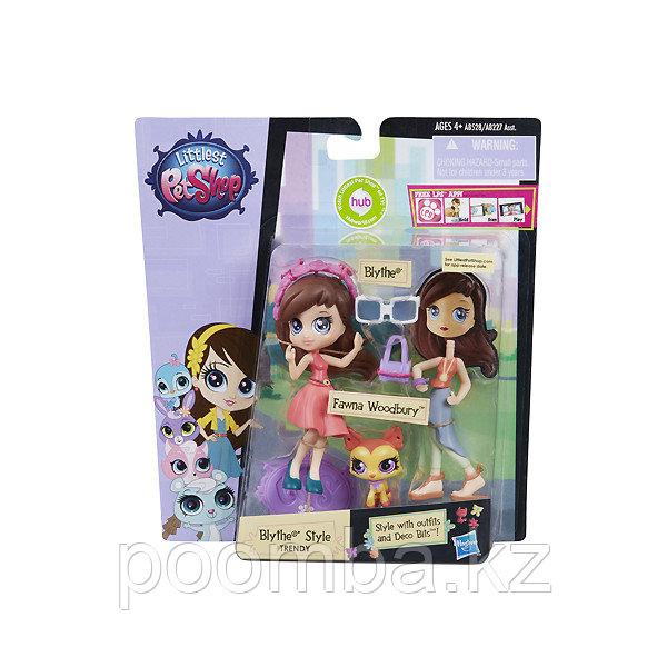 Кукла-модница Блайз и зверюшка Littlest Pet Shop - Блайз и олененок