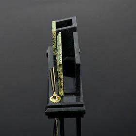 Набор письменный 'Герб' часы, подставки для ручек - фото 2
