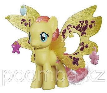"""Пони """"Делюкс"""" Cutie Mark Magic с волшебными крыльями - Флатершай"""