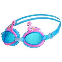 Очки для плавания 'Фламинго', детские, цвета МИКС
