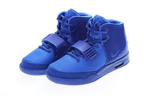Кроссовки Nike Air Yeezy 2 (Kanye West) синие