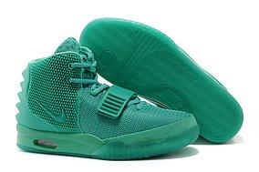 Кроссовки Nike Air Yeezy 2 (Kanye West) зеленые