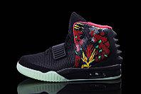 Nike Air Yeezy 2 (Kanye West) рисунок черные
