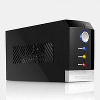 UPS, SVC, V-1200-F, Smart, USB, Диапазон работы AVR: 165-275В, Бат.: 12В/7.5 Ач*2шт., 3 вых.: Shuko CEE7, Защита тел. линии, Чёрный
