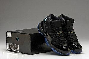 Nike Air Jordan 11 Generation баскетбольные кроссовки черные, фото 2