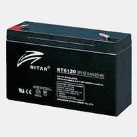 Аккумулятор 6В 12А·ч Ritar RT6120, 151x50x101
