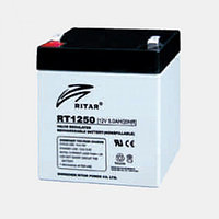 Аккумулятор 12В 5А·ч Ritar RT1250, 90х70х101