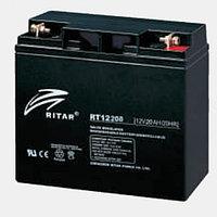 Аккумулятор 12В 20А·ч Ritar RT12200, 181x76x167