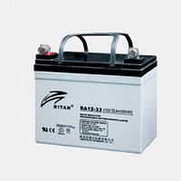 Аккумулятор 12В 33А·ч Ritar RA12-33, 195x130x155