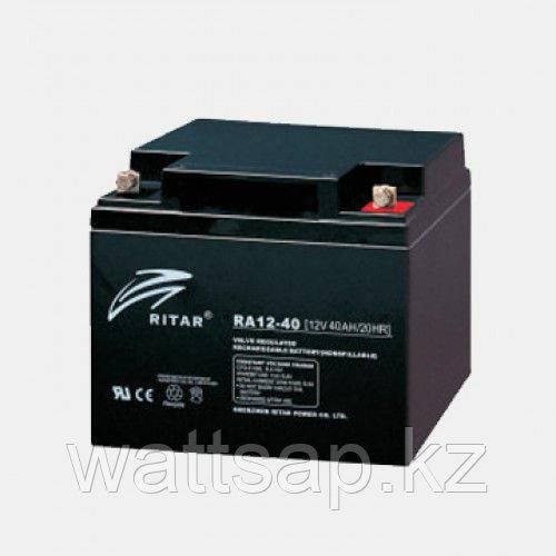 Аккумулятор 12В 40А·ч Ritar RA12-40, 197x165x169
