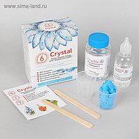 Эпоксидная смола Crystal 6: компоненты А, 120 г + В, 30 г + инструменты