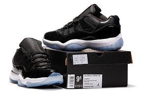 Nike Air Jordan 11 low Concord баскетбольные кроссовки черные, фото 2