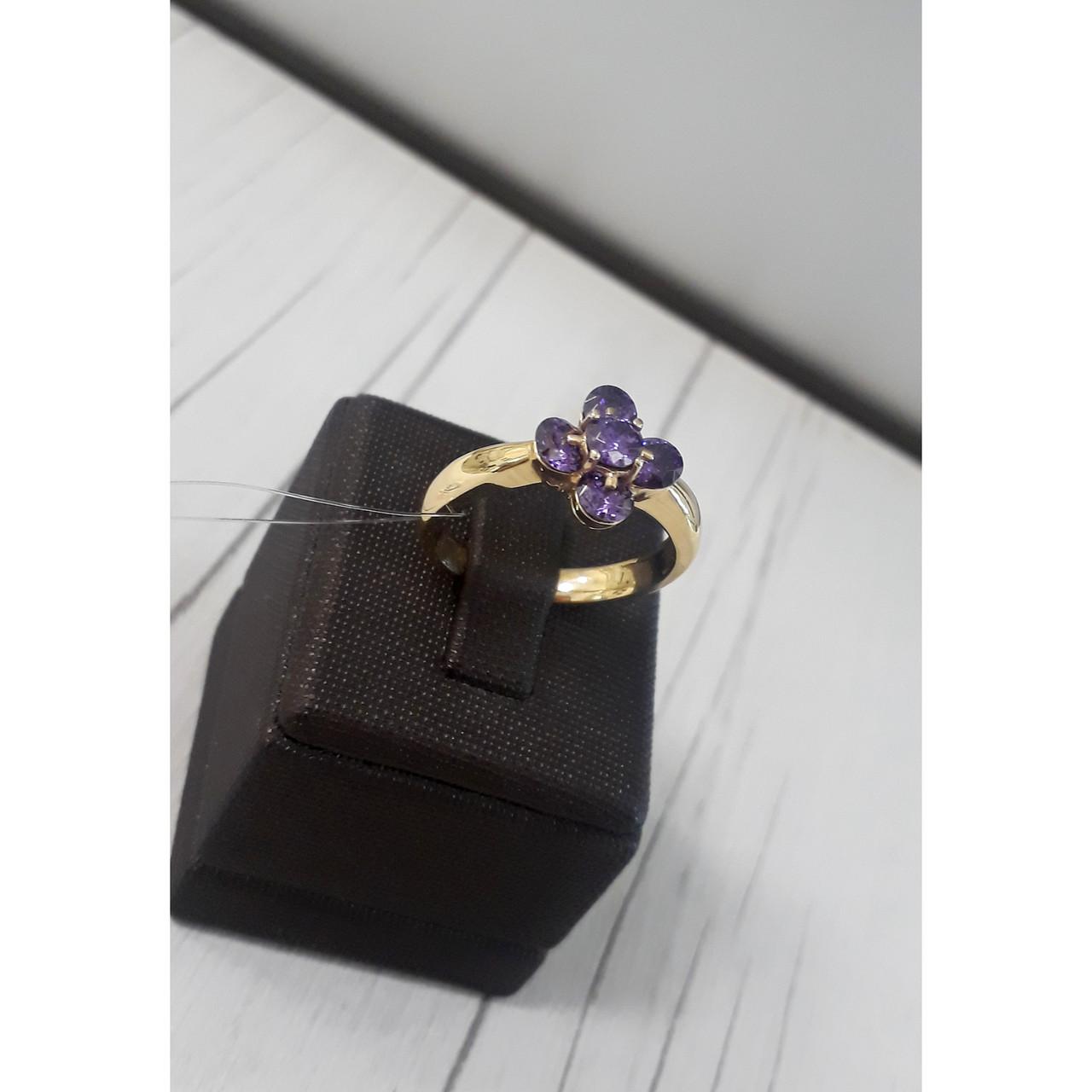 Кольцо с аметистом Roberto Bravo