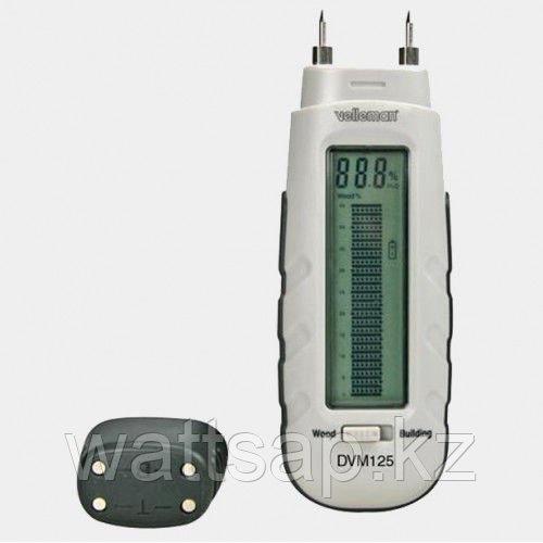 DVM125, Измеритель влажности древесины и строительных материалов