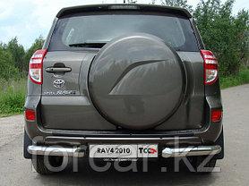 ОБВЕС защитно-декоративный из нержавеющей стали TOYOTA RAV4 2010-2012, фото 2
