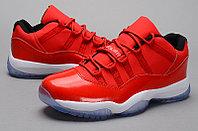 Nike Air Jordan 11 low Concord баскетбольные кроссовки красные