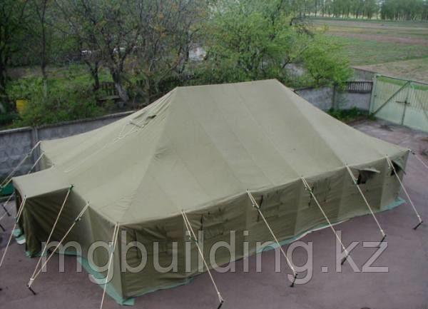 Армейская палатка на 40 человек