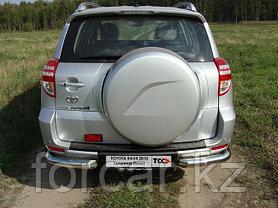 ОБВЕС защитно-декоративный из нержавеющей стали TOYOTA RAV4 2010-2012 (long) , фото 3