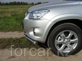 ОБВЕС защитно-декоративный из нержавеющей стали TOYOTA RAV4 2010-2012 (long) , фото 2