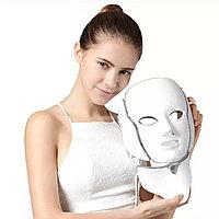 ЛЭД маска с зоной для шеи